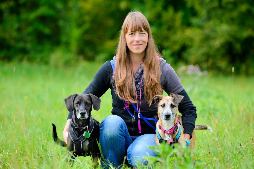 Trainerin der Hundeschule Neuried
